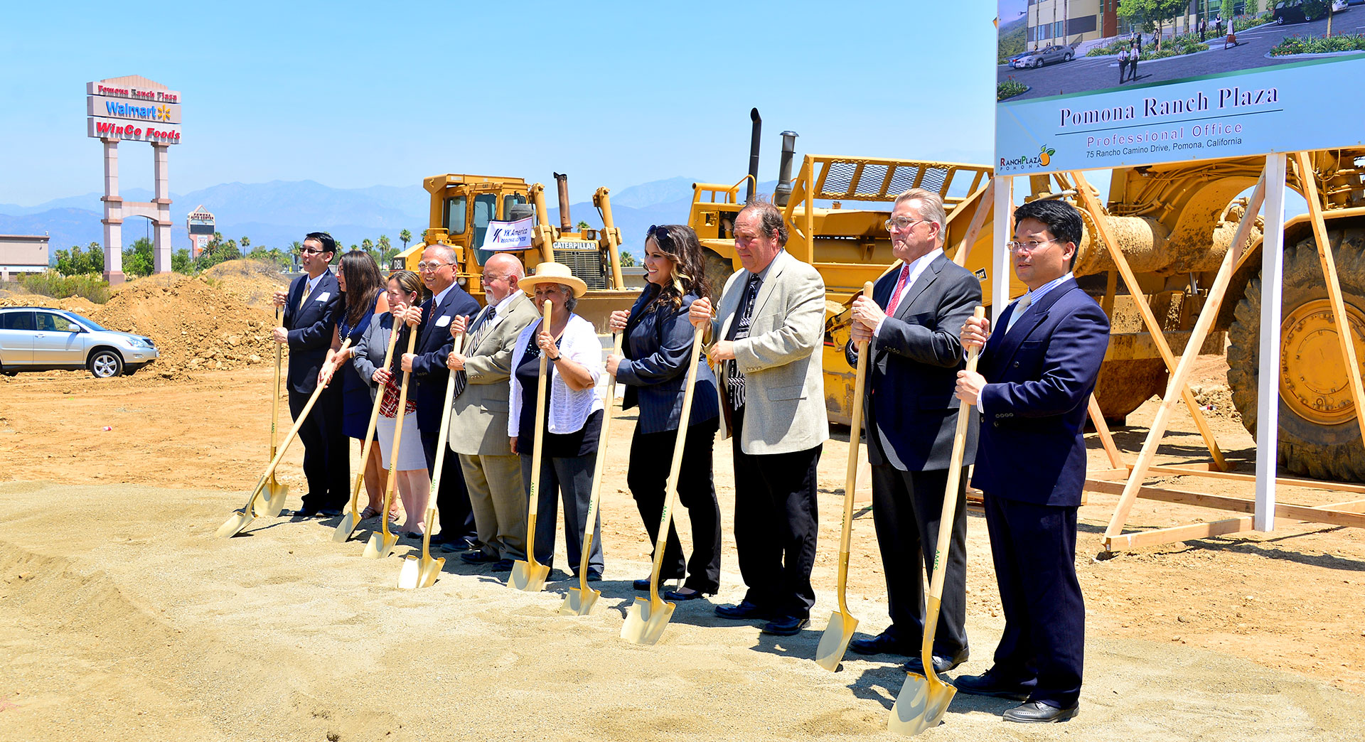 Pomona Ranch Business Center 7 Groundbreaking Ceremony