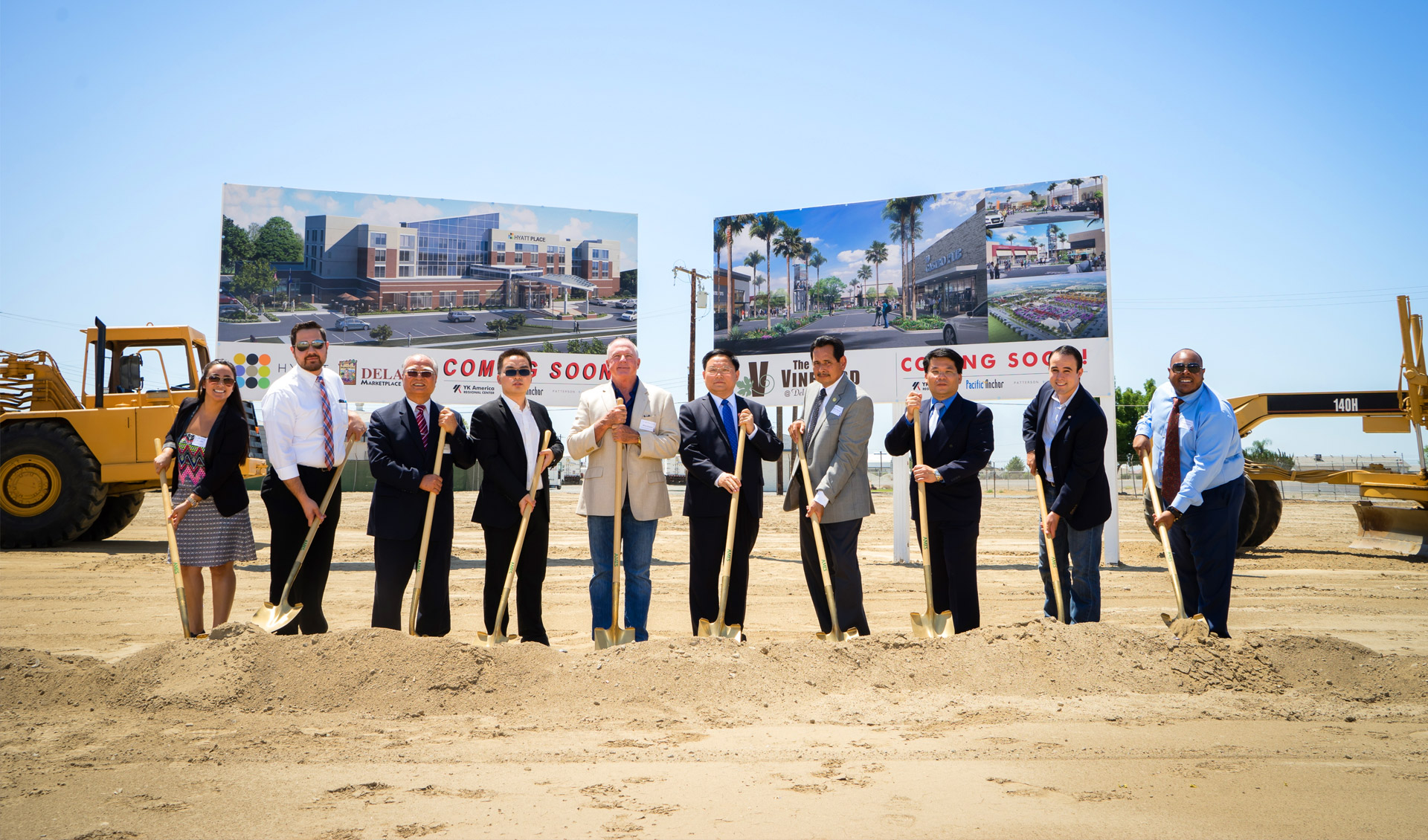 Vineyard Lifestyle Center & Hyatt Place Hotel Ground Breaking Ceremony