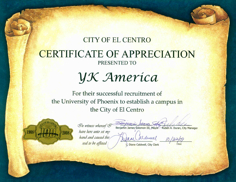 Recognition-City-of-El-Centro-to-YKA