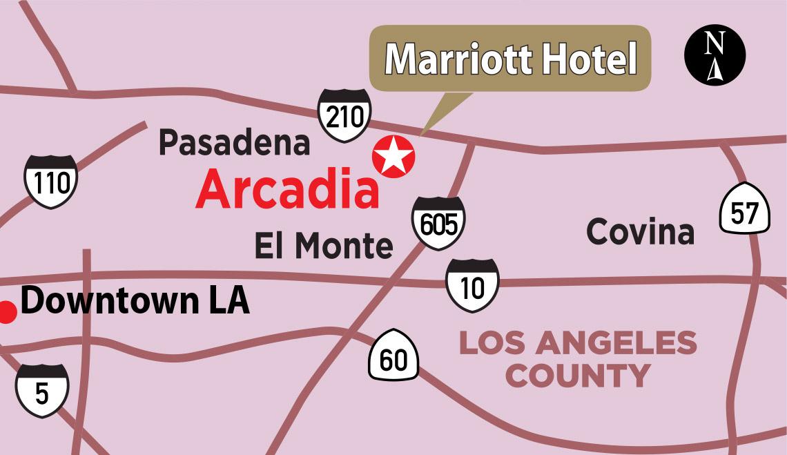 The Marriott in Arcadia – 14th EB-5 project – YK America Regional Center