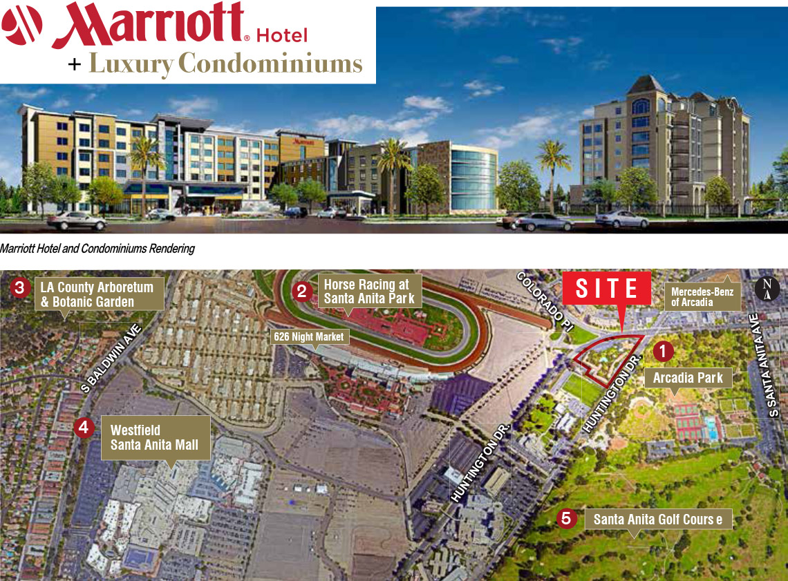 The Marriott in Arcadia – 14th EB-5 project