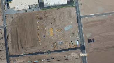 video-El Centro Construction Site