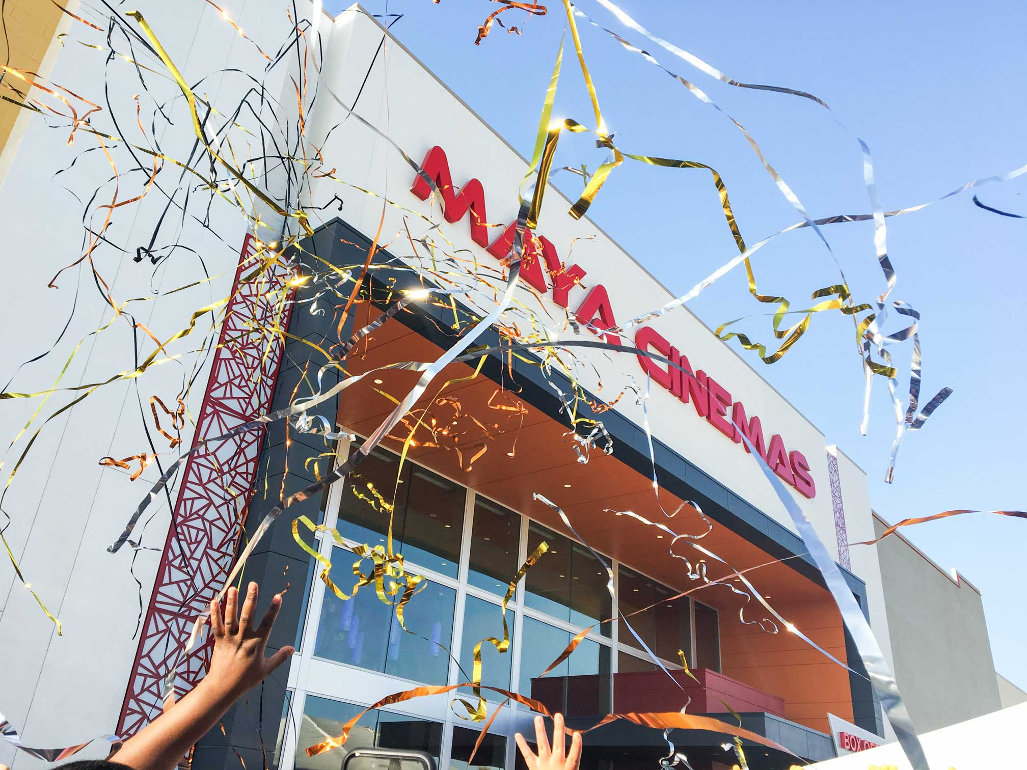 Congratulations to YK America on the Grand Opening of the Maya Cinemas!